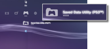 PS3™ | Using saved data