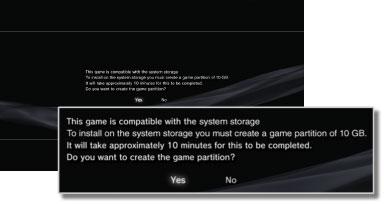 PS3™ | Installing PlayStation®2 format software