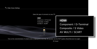 ps3 video output settings rh manuals playstation net PS3 Settings List 1080P PS3 Settings