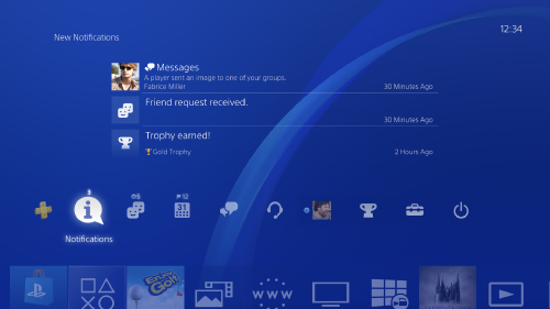What's on the home screen | PlayStation®4 User's Guide