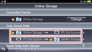 Uploading and downloading saved data | PlayStation®Vita