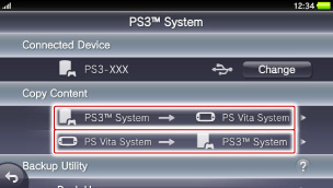 Copying music, images, and videos to and from a PS3™ system