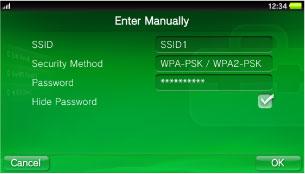 Wi-Fi Settings | PlayStation®Vita User's Guide