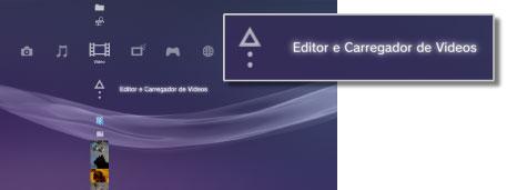 PS3™ | Edição de conteúdo de vídeo